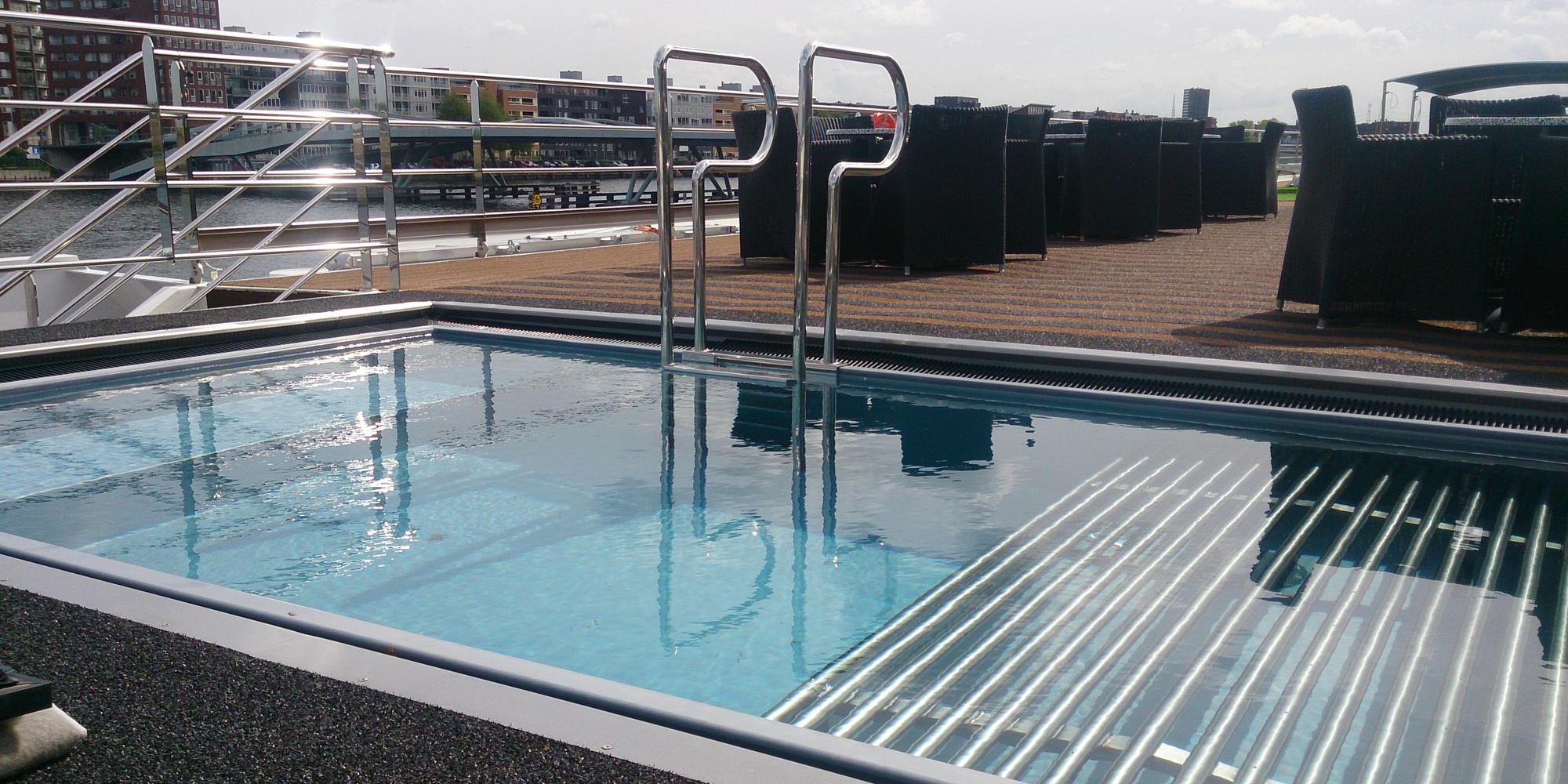 Veltmann swim-spa auf einem Kreuzfahrtschiff