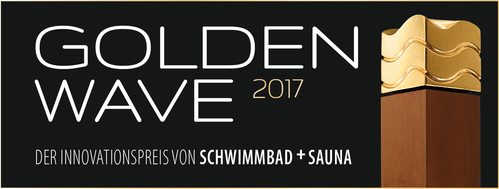 Kurzum Golden Wave 2017 Ausgezeichnet