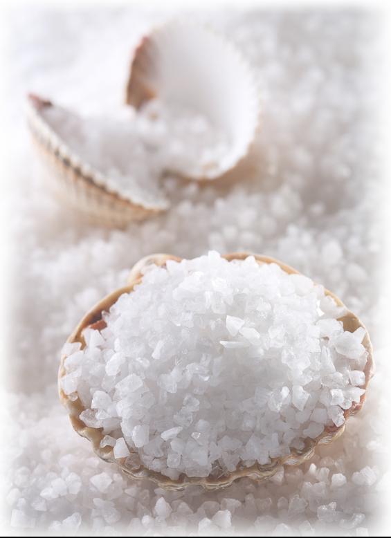 Salz im Veltmann Fertigbecken