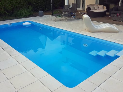 Gartenbad 756 im klassischen blau